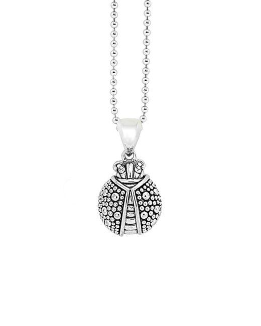 Lagos - Metallic 'rare Wonders - Ladybug' Long Talisman Necklace - Lyst