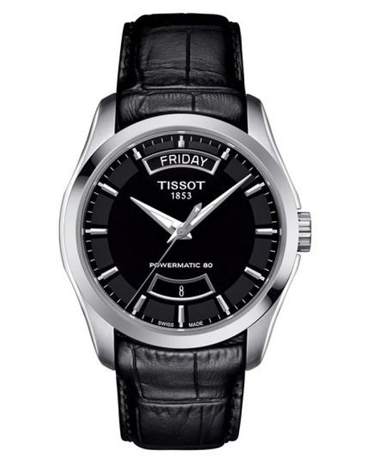 Tissot | Multicolor Couturier Automatic Leather Strap Watch for Men | Lyst