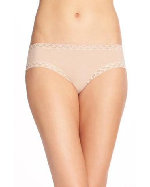 Natori | Brown 'bliss' Bikini | Lyst