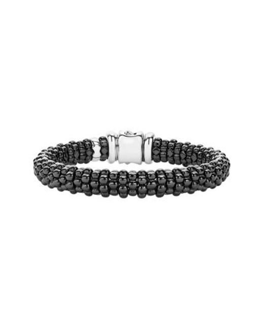 Lagos - Black Caviar Bracelet - Lyst