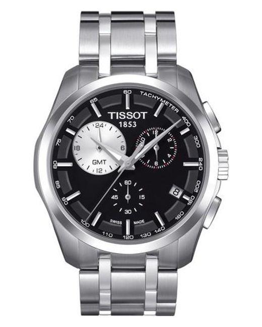 Tissot   Metallic Couturier Chronograph Bracelet for Men   Lyst