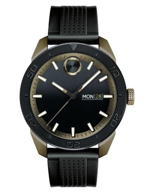 Movado   Black Bold Sport Silicone Strap Watch for Men   Lyst