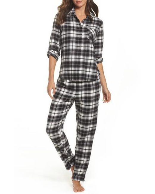 Make + Model | Black Flannel Pajamas | Lyst