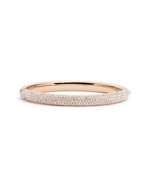 Nadri | Metallic Pave Crystal Bangle | Lyst
