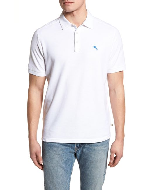 Tommy Bahama - White Tropicool Spectator Pique Polo for Men - Lyst
