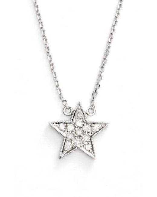 Dana Rebecca | Metallic 'julianne Himiko' Diamond Star Pendant Necklace | Lyst