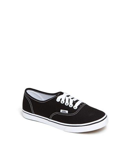 Vans | Black 'authentic - Lo Pro' Sneaker | Lyst