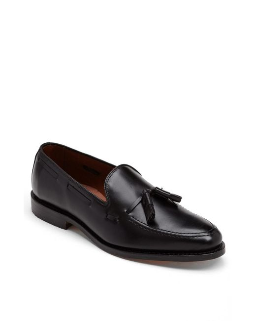 Allen Edmonds - Black 'grayson' Tassel Loafer for Men - Lyst