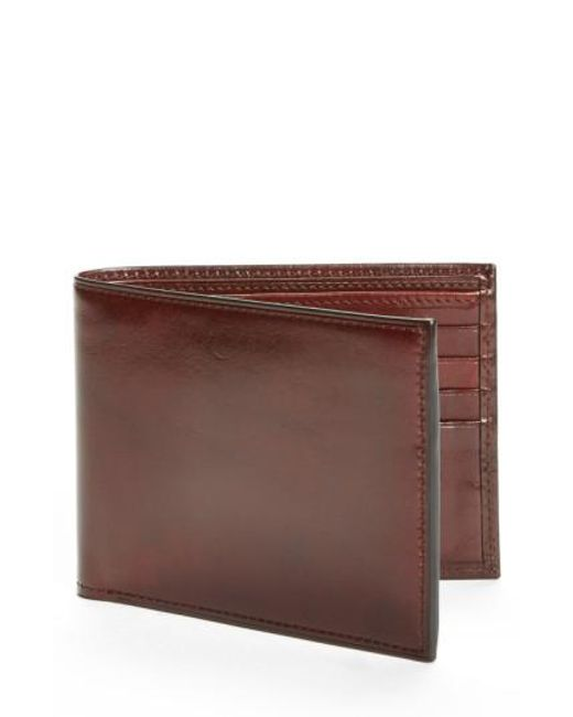 Bosca | Brown Id Flap Leather Wallet for Men | Lyst