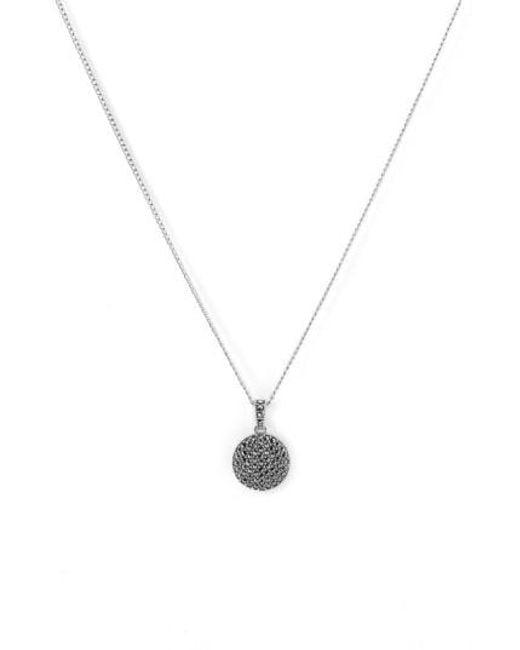 Judith Jack | Metallic Reversible Pave Pendant Necklace | Lyst