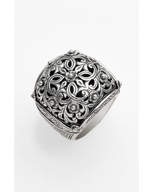 Konstantino | Metallic 'classics' Filigree Dome Ring | Lyst