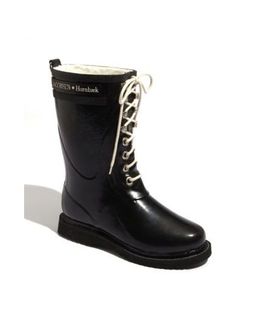 Ilse Jacobsen | Black Hornbaek Rubber Boot | Lyst