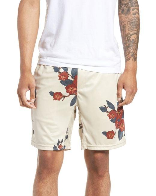 Zanerobe - Natural Bloom Sideline Shorts for Men - Lyst