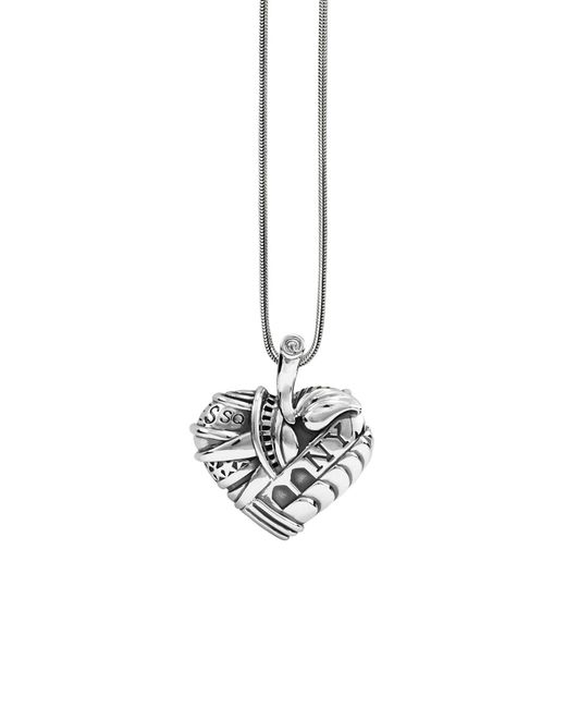 Lagos - Metallic 'hearts Of - New York' Long Pendant Necklace - Lyst