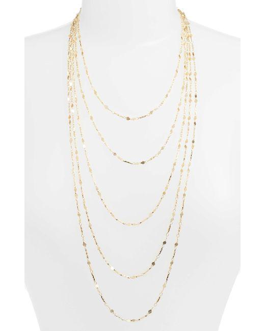 Serefina - Metallic 5-strand Necklace - Lyst