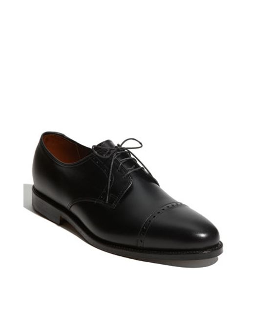 Allen Edmonds | Black 'clifton' Blucher for Men | Lyst