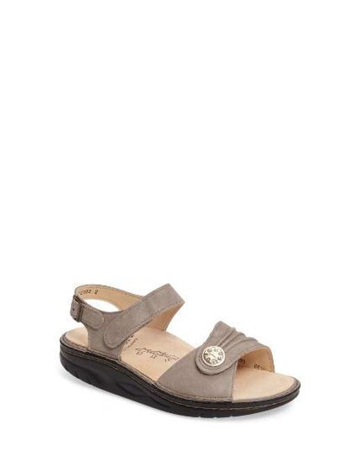 Finn Comfort | Natural Finnamic By 'sausalito' Sandal | Lyst