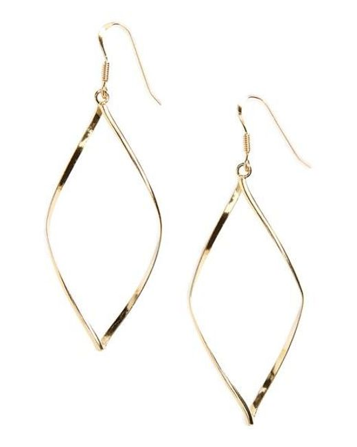 Argento Vivo | Metallic 'marquise' Earrings | Lyst