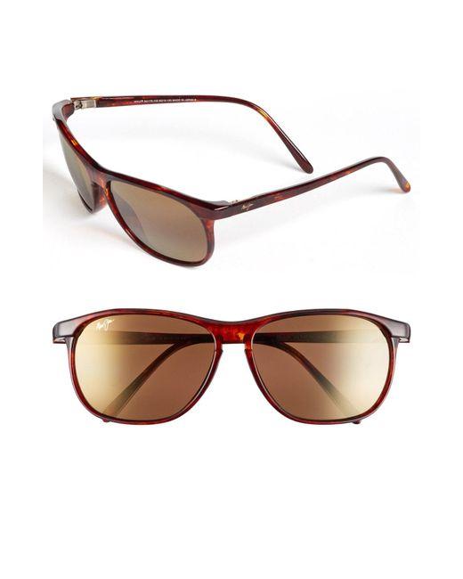 Maui Jim - Gray 'voyager - Polarizedplus2' 60mm Sunglasses - for Men - Lyst