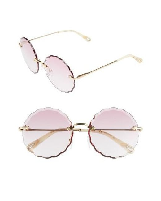 Chloé Gold Rosie Sunglasses