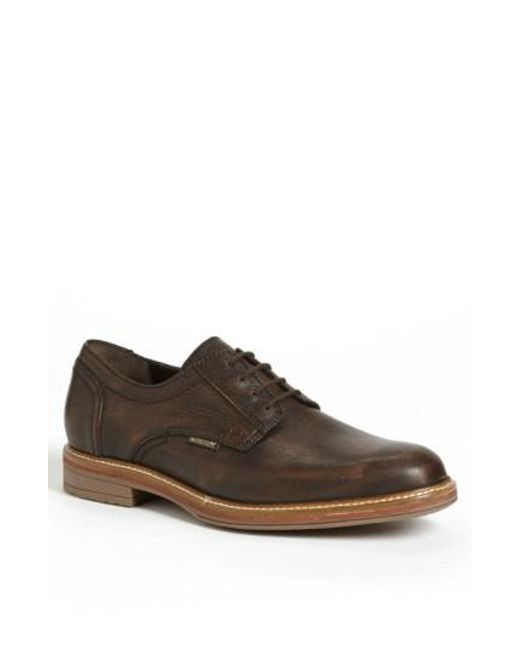 Mephisto | Brown 'waino' Plain Toe Derby for Men | Lyst