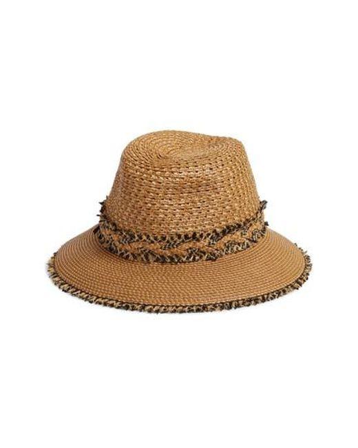 Eric Javits - Natural Lulu Squishee Straw Hat - Lyst