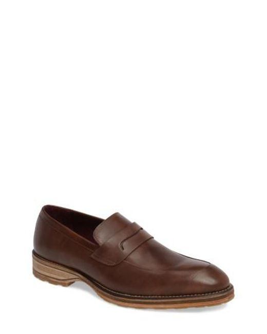 Mezlan - Brown Cantonia Penny Loafer for Men - Lyst
