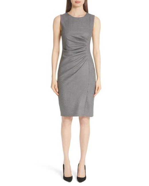 Max Mara - Gray Maura Dress - Lyst
