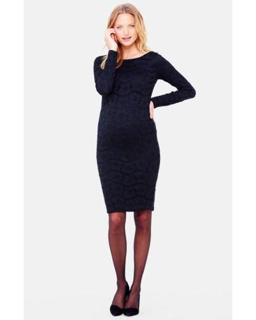 Ingrid & Isabel | Black Ingrid & Isabel Lace Maternity Dress | Lyst