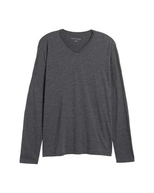 Robert Barakett | Gray Flynn V-neck T-shirt for Men | Lyst