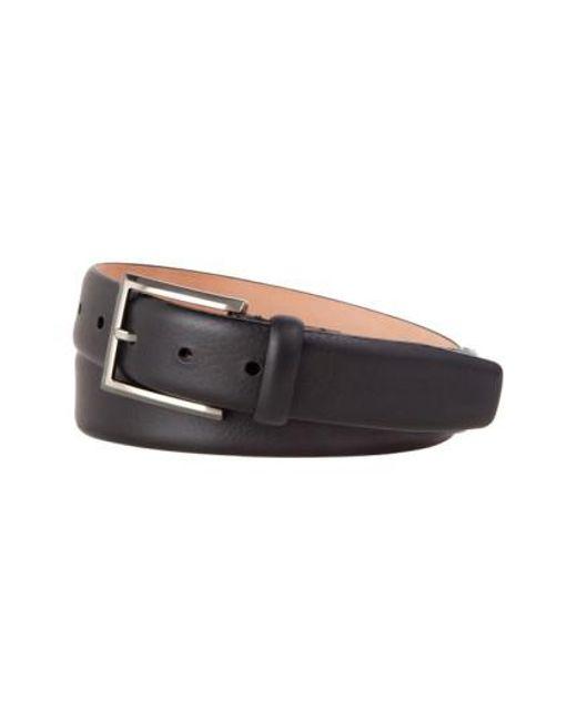Tommy Bahama | Black Leather Belt for Men | Lyst