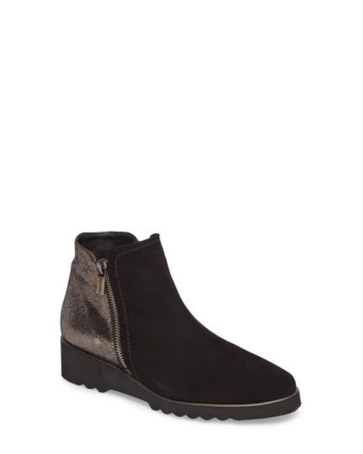 Cordani | Black Addie Wedge Bootie | Lyst