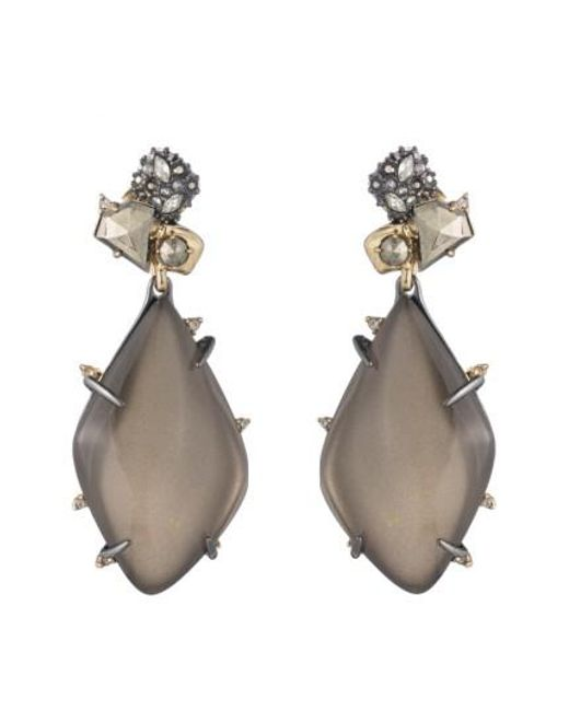 Alexis Bittar | Gray Lucite Drop Earrings | Lyst