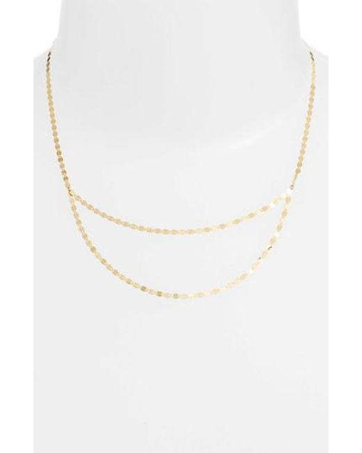 Lana Jewelry - Metallic Blake Double Layer Necklace - Lyst