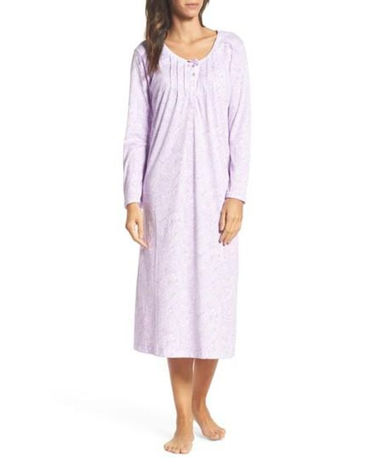 Carole Hochman | Purple Long Nightgown | Lyst