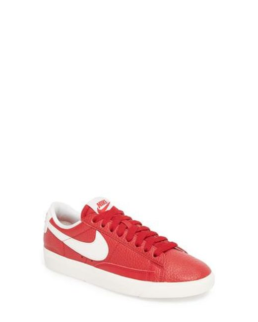 Nike - Red Blazer Premium Low Sneaker - Lyst