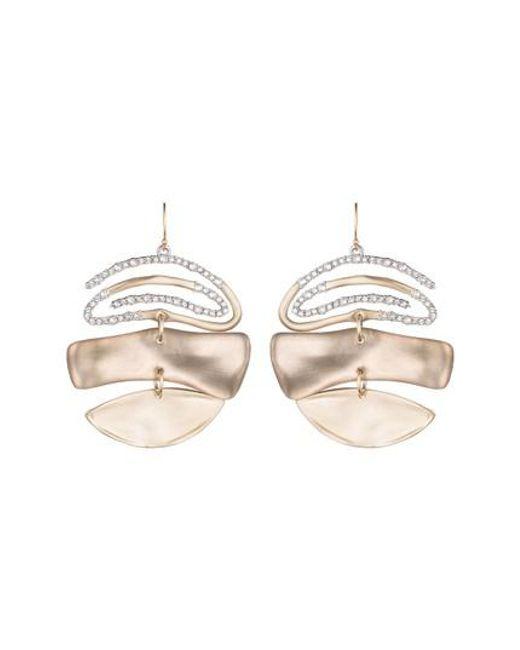 Alexis Bittar Crystal Encrusted Spiral Mobile Earrings ottf1v