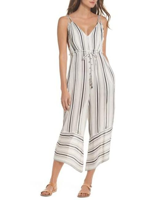 Muche Et Muchette - White Faustine Jumpsuit Cover-up - Lyst