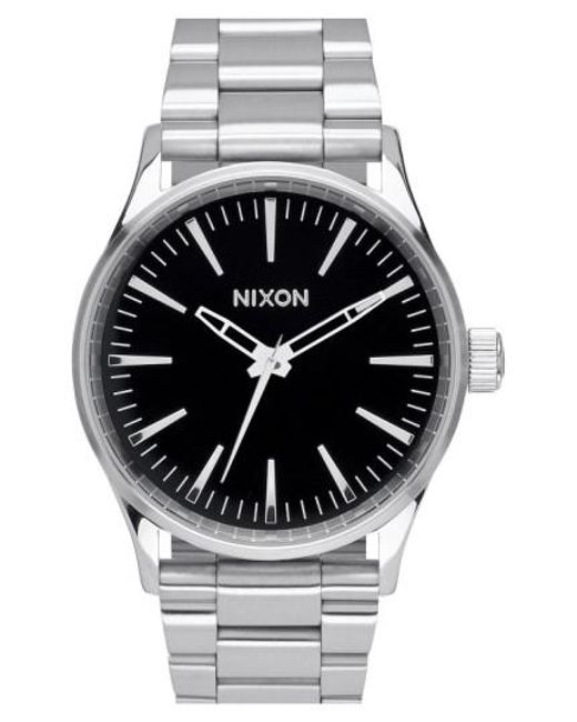 Nixon - Metallic 'the Sentry' Bracelet Watch for Men - Lyst
