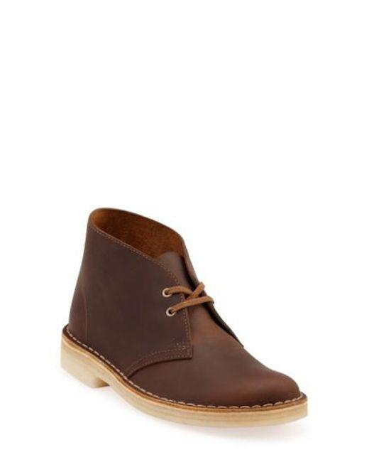 Clarks | Brown Clarks 'desert' Chukka Boot | Lyst