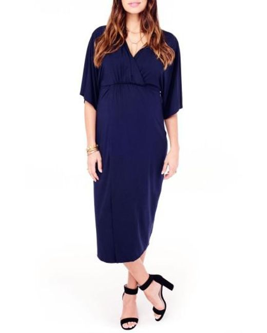 Ingrid & Isabel | Blue Ingrid & Isabel Dolman Sleeve Maternity Dress | Lyst