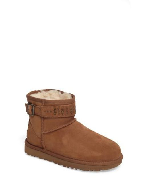 Ugg | Brown Ugg Jadine Boot | Lyst