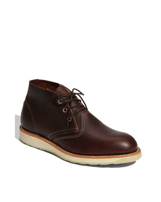 Red Wing | Green Leather Chukka Boots for Men | Lyst