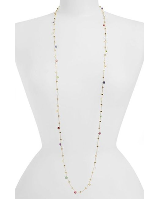 Marco Bicego | Metallic 'paradise' Semiprecious Stone Long Necklace | Lyst