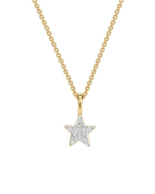 Missoma - Metallic Pave Star Pendant Necklace - Lyst