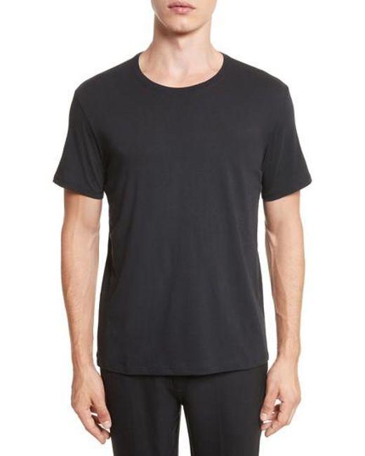 ATM   Black Cotton Jersey T-shirt for Men   Lyst