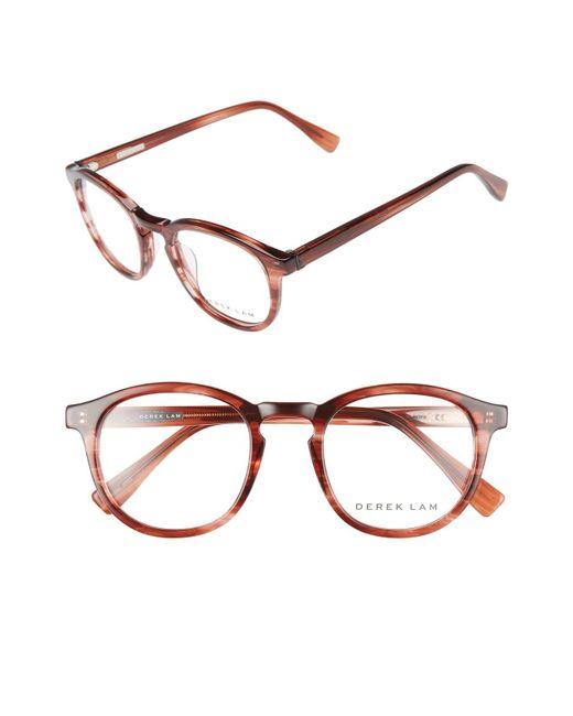 Derek Lam - Metallic 48mm Optical Glasses - - Lyst