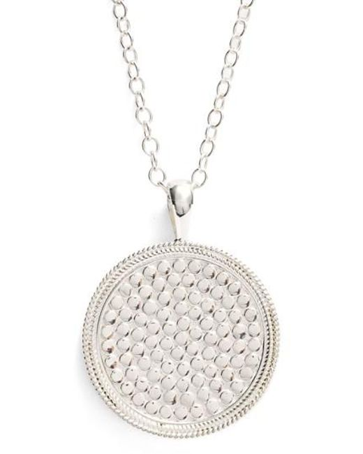 Anna Beck | Metallic 'gili' Pendant Necklace | Lyst