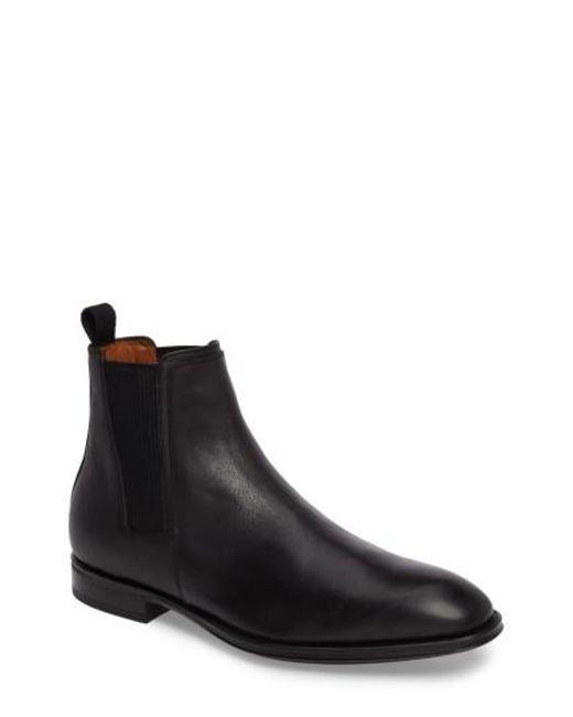 Aquatalia | Black Damon Chelsea Boot for Men | Lyst