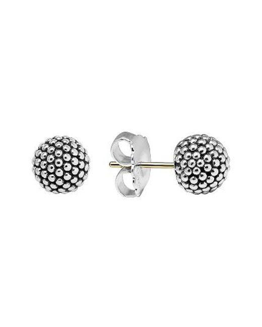 Lagos   Metallic 'columbus Circle' Ball Stud Earrings   Lyst